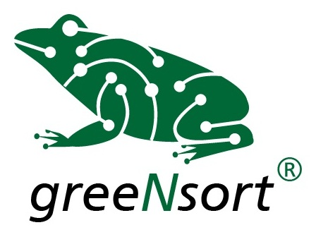 greeNsort logo